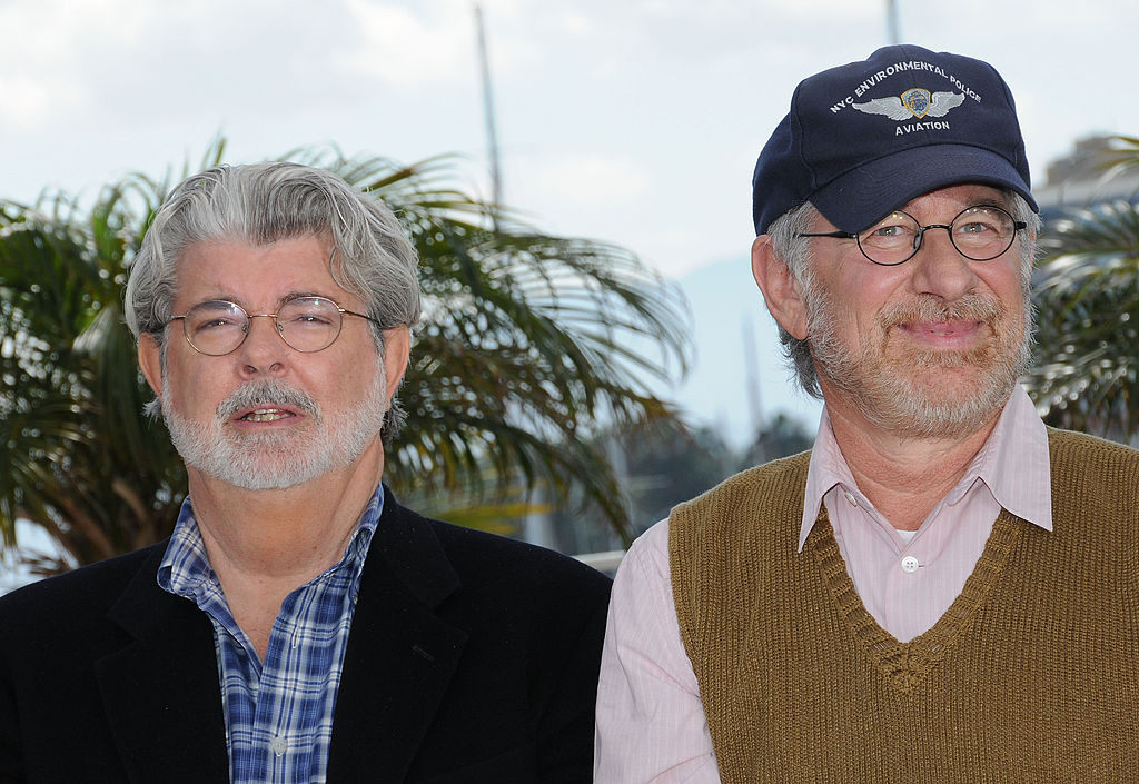 Geroge Lucas and Steven Spielberg